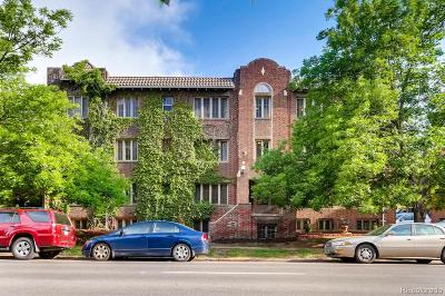 Alamo Placita, Capital Hill, Capitol Hill, Governor's Park, Governors Park Condo/Townhouse Active: 1138 East 14th Avenue #12