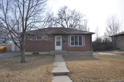Northglenn Single Family Home Under Contract: 1846 East 113th Place