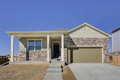 Castle Rock Single Family Home Under Contract: 5992 Sun Mesa Circle