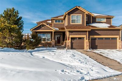 Castle Rock Single Family Home Active: 1437 Switch Grass Court