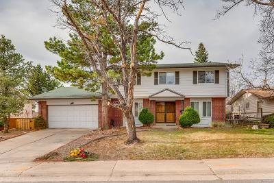 Centennial Single Family Home Active: 7621 East Easter Place
