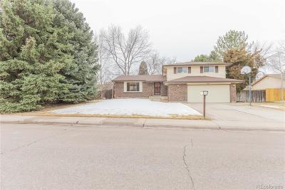 Denver County Single Family Home Active: 4477 South Wolff Street
