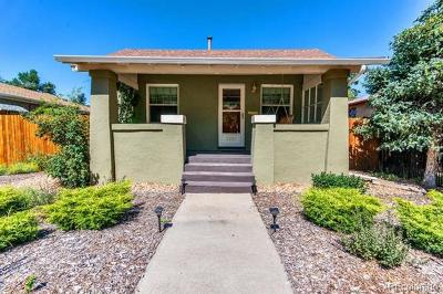 Denver CO Single Family Home Active: $499,900 List Price