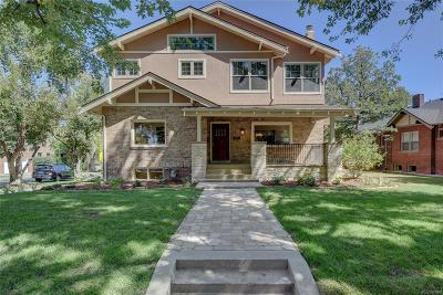 Denver Single Family Home Under Contract: 860 Detroit Street