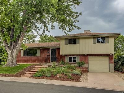 Centennial Single Family Home Active: 6181 South Garfield Drive