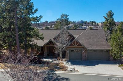 Castle Rock Single Family Home Active: 2498 Oak Vista Court