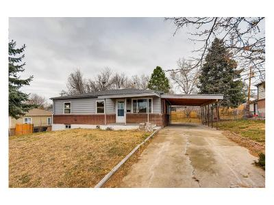 Thornton Single Family Home Under Contract: 2461 Roosevelt Avenue