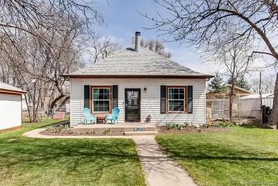 Evans Single Family Home Under Contract: 3914 Golden Street
