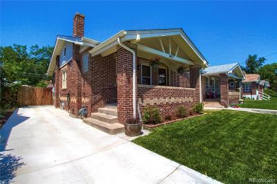 Denver Single Family Home Active: 4557 Decatur Street