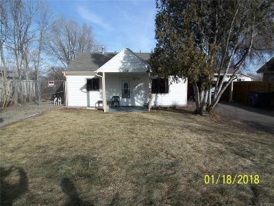 Single Family Home Active: 2775 West Iliff Avenue
