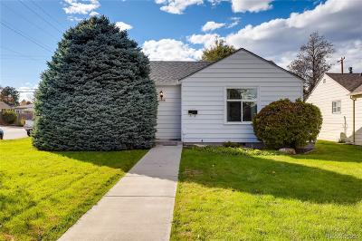 Single Family Home Under Contract: 2595 South Gaylord Street