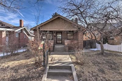 Single Family Home Under Contract: 454 North Franklin Street