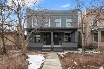 Denver Single Family Home Under Contract: 2311 North Vine Street