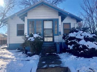 Denver Single Family Home Active: 3534 West 45th Avenue