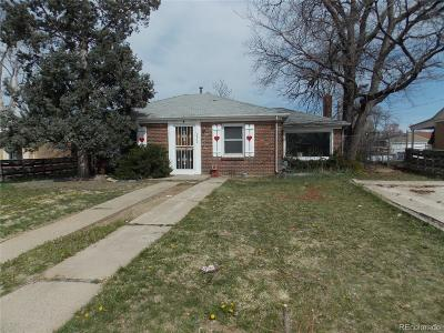 Denver Single Family Home Under Contract: 2620 Olive Street