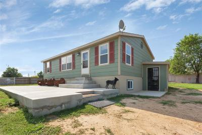 Fort Lupton Single Family Home Under Contract: 7250 Henry Street