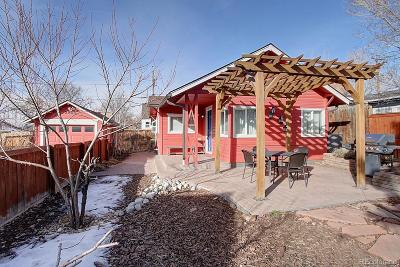 Wheat Ridge Single Family Home Under Contract: 2963 Ames Street