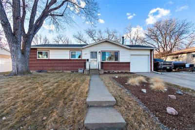 Arvada Single Family Home Active: 6457 Lee Street
