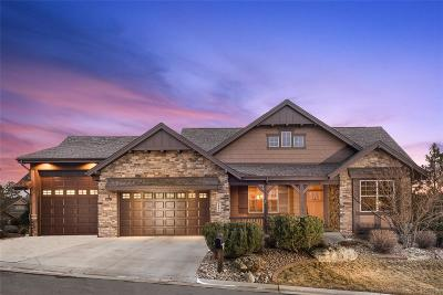 Castle Rock Single Family Home Under Contract: 2094 Ramblewood Court