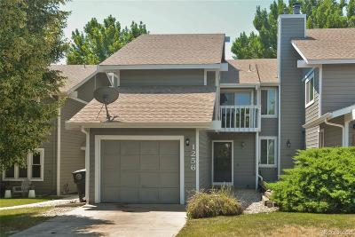 Longmont Condo/Townhouse Under Contract: 1256 Atwood Court
