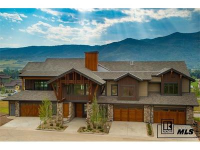 Steamboat Springs Condo/Townhouse Active: Tdb Eagle Glen Drive #S300