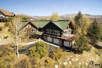 Steamboat Springs Single Family Home Active: 1260 Buckskin Drive