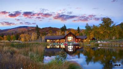Steamboat Springs Single Family Home Active: 33570 Water Song Lane