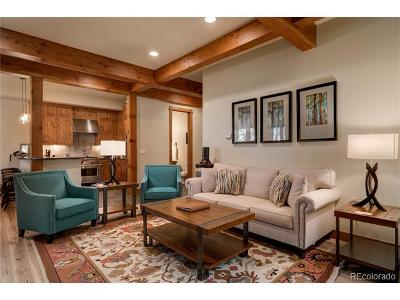 Steamboat Springs Condo/Townhouse Active: 1303 Turning Leaf Court