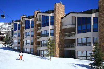 Steamboat Springs Condo/Townhouse Under Contract: 2340 Après Ski #Unit 322