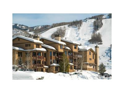 Steamboat Springs Condo/Townhouse Active: 2085 Ski Time Square Dr 211b