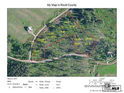 Oak Creek CO Residential Lots & Land Active: $129,000