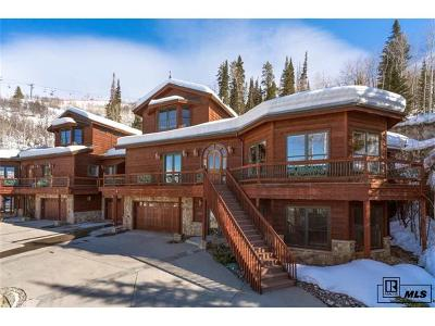 Steamboat Springs Condo/Townhouse Active: 2512 Ski Trail Lane