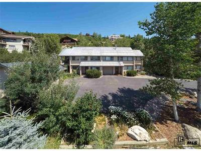 Steamboat Springs Condo/Townhouse Active: 1398 Overlook Drive