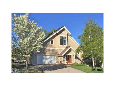 Steamboat Springs Single Family Home Active: 475 Willow Court