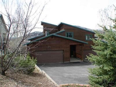 Steamboat Springs Condo/Townhouse Active: 574 Tamarack Drive