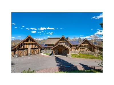 Steamboat Springs Single Family Home Active: 30350 Blue Grouse Lane