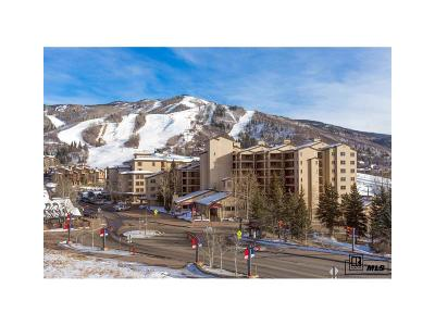 Steamboat Springs Condo/Townhouse Under Contract: 1855 Ski Time Square Drive #604