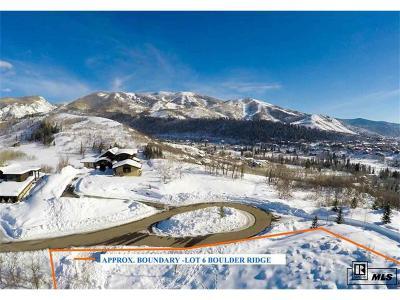Steamboat Springs Residential Lots & Land Active: 405 Boulder Ridge Road