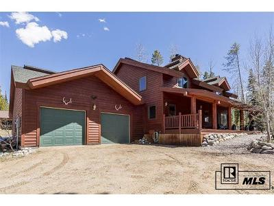 Routt County Single Family Home Active: 27445 West Wind Place