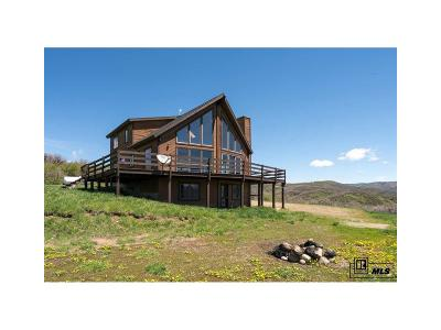 Steamboat Springs Single Family Home Under Contract: 50355 Buck Mountain Lane
