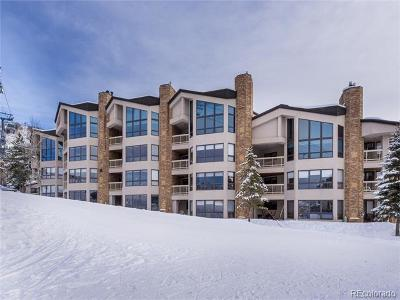 Steamboat Springs Condo/Townhouse Active: 2340 Apres Ski Way #C325