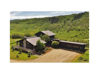 Steamboat Springs Single Family Home Under Contract: 47850 Routt County Road 52w