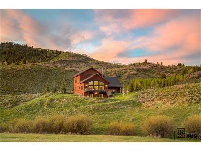 Routt County Single Family Home Active: 32515 Pueblo Way