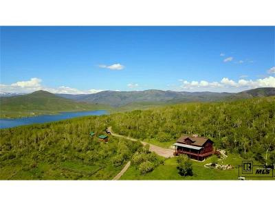 Routt County Single Family Home Active: 23375 Blue Valley Lane