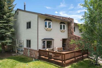 Steamboat Springs Condo/Townhouse Active: 25 Balsam