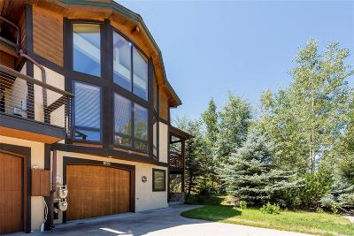 Steamboat Springs Condo/Townhouse Active: 1895 Hunters Drive