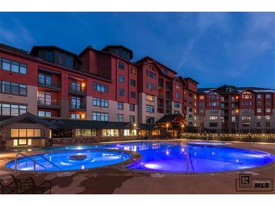 Steamboat Springs Condo/Townhouse Active: 2300 Mt. Werner Circle 705 Qiiia & Qiiib #Penthous