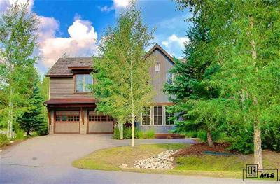 Steamboat Springs Condo/Townhouse Active: 1301 Turning Leaf Court #Cottonwo