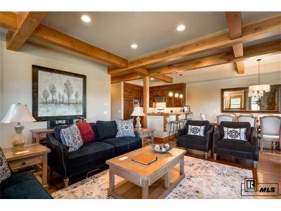 Steamboat Springs Condo/Townhouse Active: 1331 Turning Leaf Court #Blue Spr