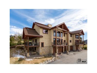Steamboat Springs Condo/Townhouse Active: 335 Little Moon Trail